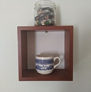Other - Square wooden shelf
